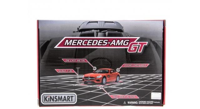 Машина Kinsmart 1:38 Mercedes-AMG GT в асс. инерция (1/12шт.) б/к 10