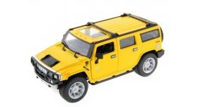 Машина Kinsmart 1:32 2008 Huммer H2 SUV (1/6шт.) б/к 1