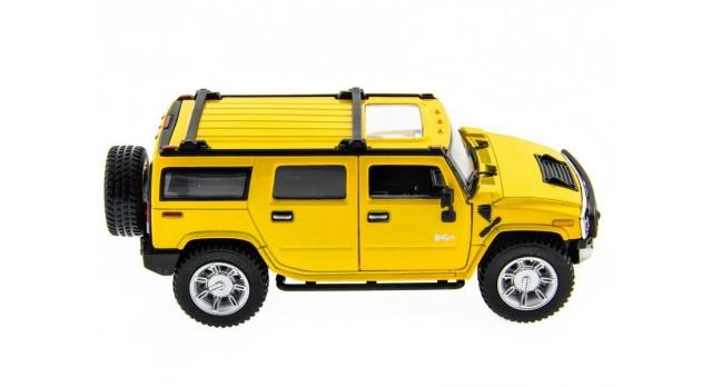 Машина Kinsmart 1:32 2008 Huммer H2 SUV (1/6шт.) б/к 7