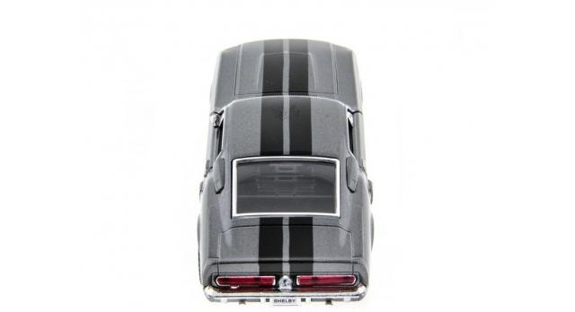 Машина Kinsmart 1:38 Shelby GT-500 1967 в асс. инерция (1/12шт.) б/к 4