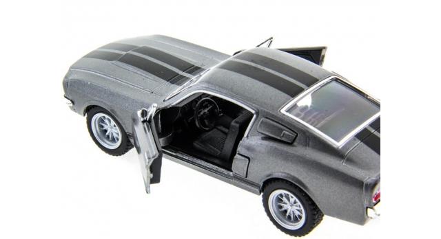 Машина Kinsmart 1:38 Shelby GT-500 1967 в асс. инерция (1/12шт.) б/к 5