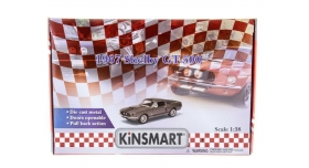 Машина Kinsmart 1:38 Shelby GT-500 1967 в асс. инерция (1/12шт.) б/к 10