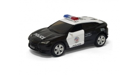 Машина Kinsmart 1:36 Lamborghini Urus (Police) инерция (1/12шт.) б/к 1