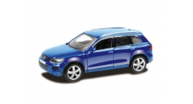 Машина Ideal 1:64 Volkswagen Touareg, синий 1