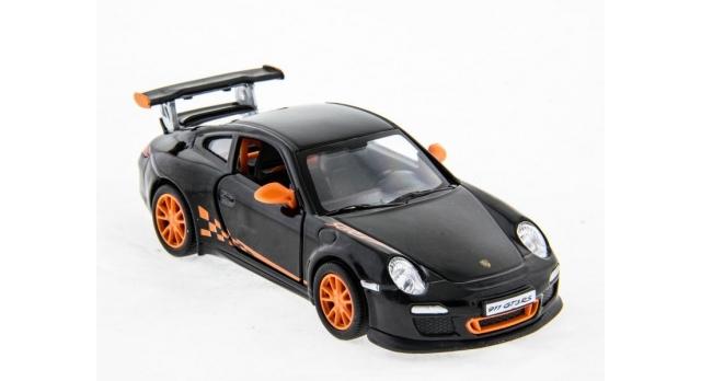 Машина Kinsmart 1:36 Porche 911 GT3 RS 2010 инерция (1/12шт.) б/к 3