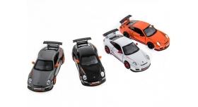 Машина Kinsmart 1:36 Porche 911 GT3 RS 2010 инерция (1/12шт.) б/к 9