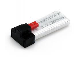 Аккумулятор Li-Po 350mAh, 3,7V для Syma X1