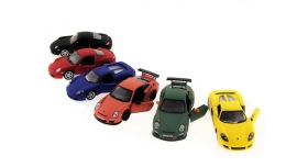 Машина Kinsmart 1:36 Porsche Matte инерция (1/12шт.) в асс. б/к 9