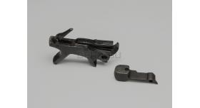 Курок и казенник для револьвера Наган под боковой бой / Оригинал склад с клеймом Звезда [наган-93]