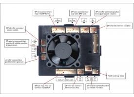 Блок электроники со встроенным приемником на 2.4G