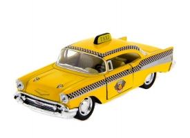 "Машина Kinsmart ""1957 Chevrolet Bel Air"" инерция (1/12шт.) 1:36 б/к"