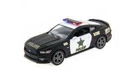 Машина Kinsmart 1:38 Ford Mustang GT 2015 (Police) инерция (1/12шт.) б/к 1