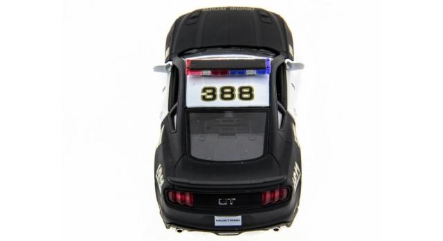Машина Kinsmart 1:38 Ford Mustang GT 2015 (Police) инерция (1/12шт.) б/к 4