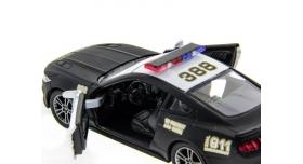 Машина Kinsmart 1:38 Ford Mustang GT 2015 (Police) инерция (1/12шт.) б/к 5
