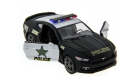 Машина Kinsmart 1:38 Ford Mustang GT 2015 (Police) инерция (1/12шт.) б/к 6