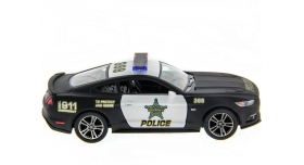 Машина Kinsmart 1:38 Ford Mustang GT 2015 (Police) инерция (1/12шт.) б/к 7