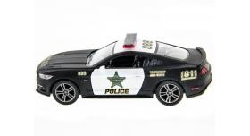 Машина Kinsmart 1:38 Ford Mustang GT 2015 (Police) инерция (1/12шт.) б/к 8