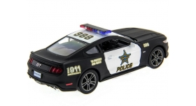 Машина Kinsmart 1:38 Ford Mustang GT 2015 (Police) инерция (1/12шт.) б/к 10