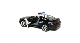 Машина Kinsmart 1:38 FORD Mustang GT Police инерция (1/12шт.) б/к 2