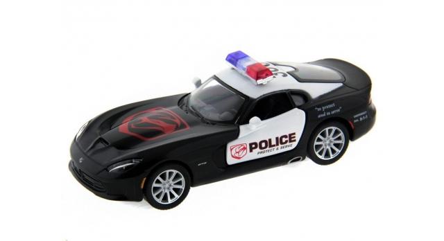 Машина Kinsmart 1:40 SRT Viper Police в асс. инерция (1/12шт.) б/к 1