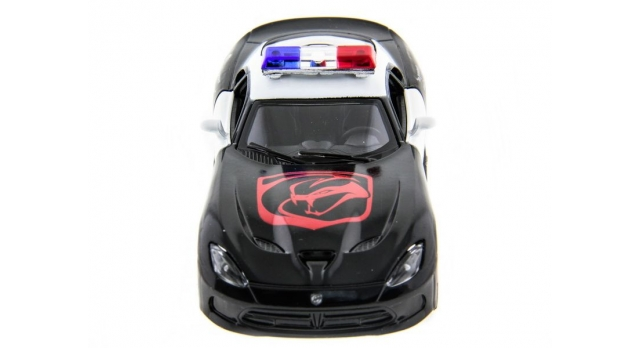 Машина Kinsmart 1:40 SRT Viper Police в асс. инерция (1/12шт.) б/к 2