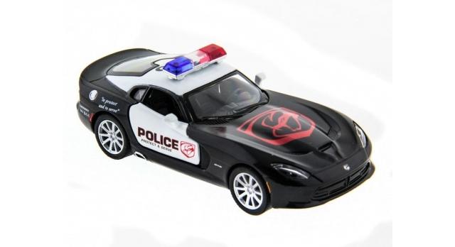 Машина Kinsmart 1:40 SRT Viper Police в асс. инерция (1/12шт.) б/к 3