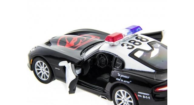 Машина Kinsmart 1:40 SRT Viper Police в асс. инерция (1/12шт.) б/к 5