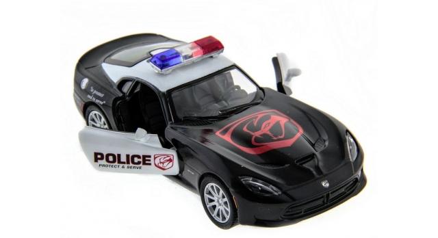 Машина Kinsmart 1:40 SRT Viper Police в асс. инерция (1/12шт.) б/к 6