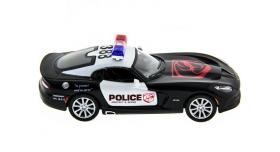 Машина Kinsmart 1:40 SRT Viper Police в асс. инерция (1/12шт.) б/к 7