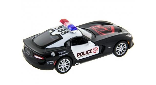 Машина Kinsmart 1:40 SRT Viper Police в асс. инерция (1/12шт.) б/к 10