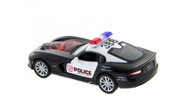 Машина Kinsmart 1:40 SRT Viper Police в асс. инерция (1/12шт.) б/к 11
