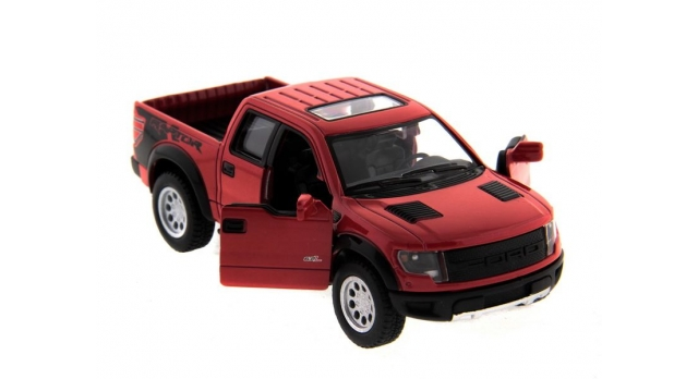 Машина Kinsmart 1:46 Ford F-150 SVT Raptor Supercrew в асс. инерция (1/12шт.) б/к 5
