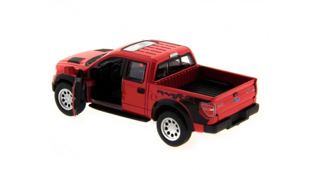 Машина Kinsmart 1:46 Ford F-150 SVT Raptor Supercrew в асс. инерция (1/12шт.) б/к 6
