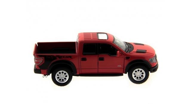 Машина Kinsmart 1:46 Ford F-150 SVT Raptor Supercrew в асс. инерция (1/12шт.) б/к 7
