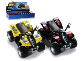 Машина Kinsmart Smart ATV инерция (1/12шт.) б/к