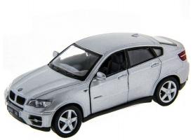 Машина Kinsmart 1:38 BMW X6 инерция (1/12шт.) б/к