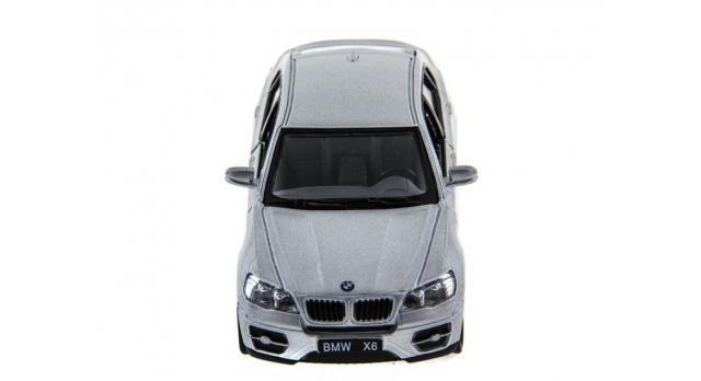Машина Kinsmart 1:38 BMW X6 инерция (1/12шт.) б/к 2