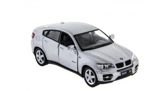 Машина Kinsmart 1:38 BMW X6 инерция (1/12шт.) б/к 3