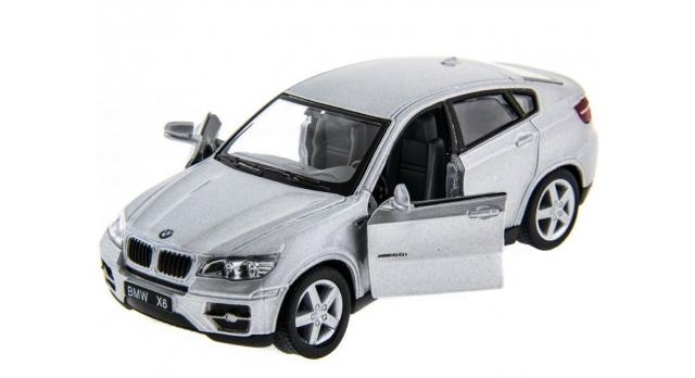Машина Kinsmart 1:38 BMW X6 инерция (1/12шт.) б/к 6