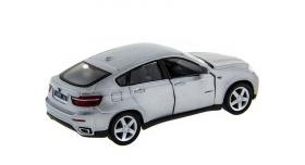 Машина Kinsmart 1:38 BMW X6 инерция (1/12шт.) б/к 11