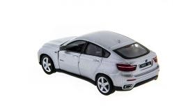 Машина Kinsmart 1:38 BMW X6 инерция (1/12шт.) б/к 12