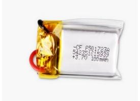 Аккумулятор Li-Po 100mAh, 3,7V для Syma S5