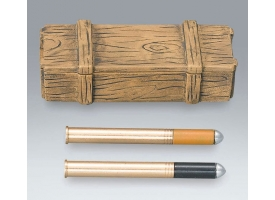 Ящик боеприпасов и два снаряда