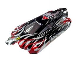 Кузов багги черного цвета для моделей Himoto E10XB, 10XBL