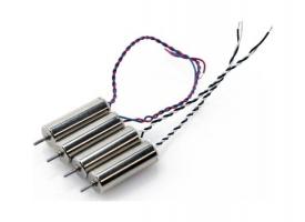 Мотор A для квадрокоптера Hubsan H107P (красно-синие провода)