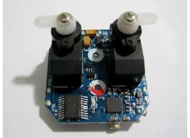 Модуль управления 4 в 1 (приемник, регулятор 2шт., гироскоп, сервомашинки 2шт.)