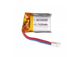 Аккумулятор Li-Po 200mAh, 3,7V для Syma X4, X13