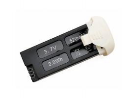 Аккумулятор Li-Po 520mAh, 3,7V для Hubsan H107C+