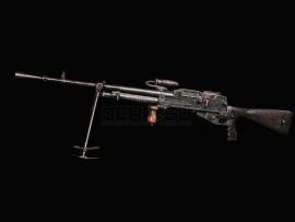 3718 Макет массогабаритный ручного пулемета Гочкис (Hotchkiss M1922)