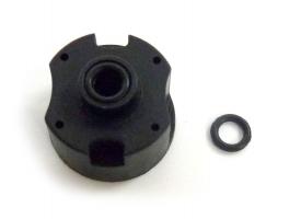 Корпус дифференциала в комплекте с кольцом уплотнения для автомоделей E10